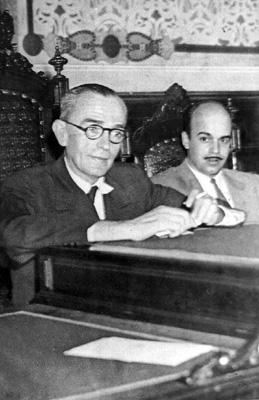 Com Murilo Rubião