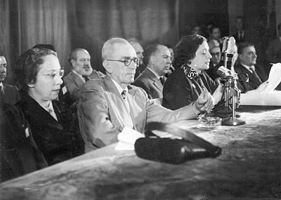 No Congresso de escritores