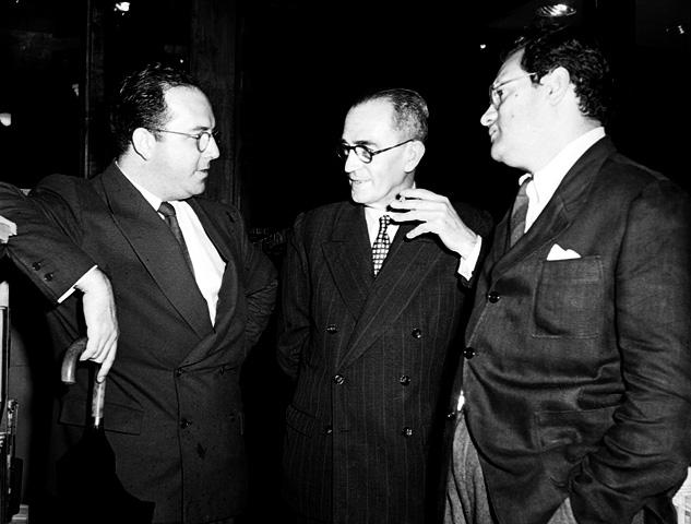 Com Guilherme Figueiredo e José Lins do Rego