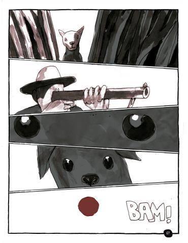 Página do livro Vidas Secas (em quadrinhos)
