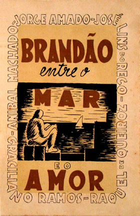 Brandão Entre o Mar e o Amor (1942) capa da primeira edição