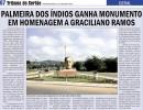 Monumento em homenagem a GR em Palmeira dos Índios